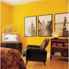 Желтый цвет в интерьере - солнечная радость