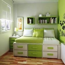 Решения по обустройству дизайна интерьера маленькой спальни