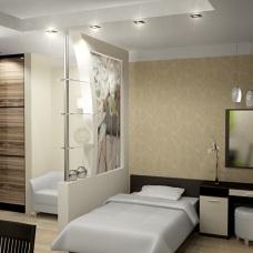 Легкий дизайн квартиры 40 кв м