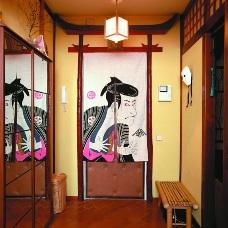 Дизайн интерьера в японском стиле за пределами Японии
