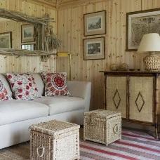 Дизайн интерьера в деревенском стиле - тепло и уют домашнего очага