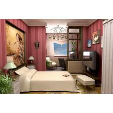 Как расширить пространство и создать дизайн интерьера узкой спальни