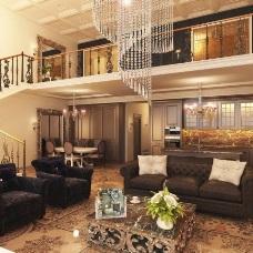 Оформление и дизайн интерьера двухуровневой квартиры