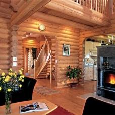 Дизайна интерьера дома из бревна: какой лучше?