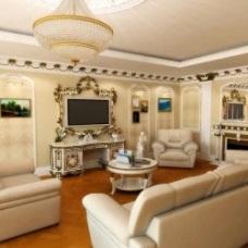 Классический дизайн интерьера гостиной: элегантно и роскошно