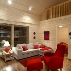 Дизайн интерьера дома из бруса природная эстетика дерева