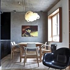 Бетон в дизайне интерьера: брутальная изысканность материала