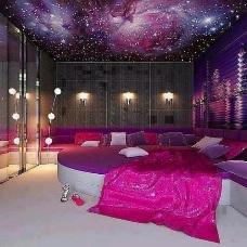 Дизайн интерьера в фиолетовых тонах – элегантное украшение комнаты