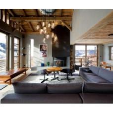 Атмосферные мотивы: дизайн интерьера в стиле шале