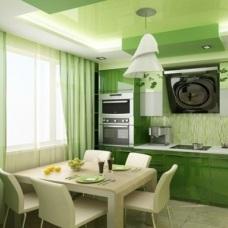 Зеленый цвет в дизайне интерьера. Сочные оттенки для настроения