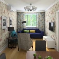 Дизайн интерьера узкой гостиной: как визуально расширить пространство?