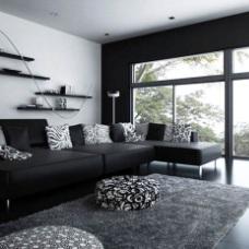 Черно белый стиль в дизайне интерьера: простота и элегантность