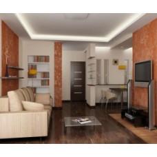 Дизайн интерьера гостиной студии: как совместить несколько комнат?