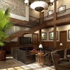 Дизайн интерьера холла с лестницей - визитная карточка дома