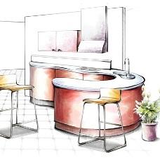 Дизайн проект интерьера кухни. Как спланировать грамотное и удобное пространство