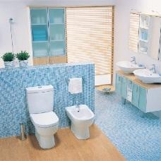 Спокойный и уютный дизайн интерьера в голубых тонах