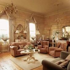Английский дизайн интерьера – стильный характер помещения