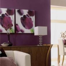 Фиолетовый цвет в дизайне интерьера: гармоничное сочетание сложных оттенков