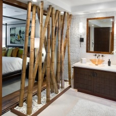 Бамбук в дизайне интерьера: преимущества и мелкие хитрости