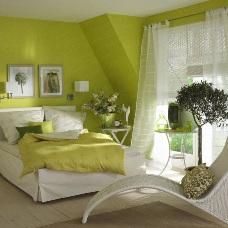 Как создать дизайн интерьера в зеленых тонах