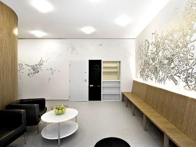 Дизайн интерьера клиники