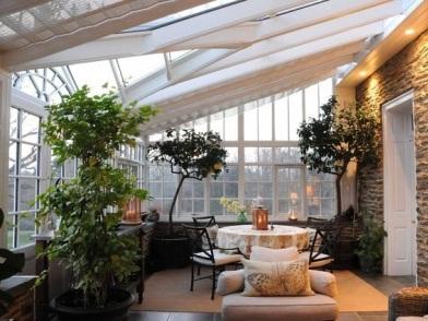 Дизайн интерьера террасы