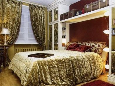 Дизайн интерьера спальни 14 м
