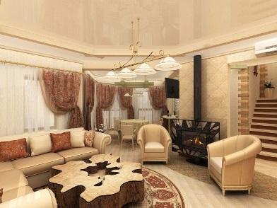 Дизайн интерьера в стиле эклектика