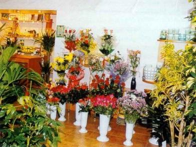дизайн интерьера цветочного магазина