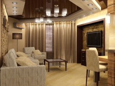 Дизайн интерьера двухкомнатной квартиры