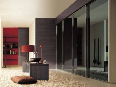 шкафы купе в дизайне интерьера