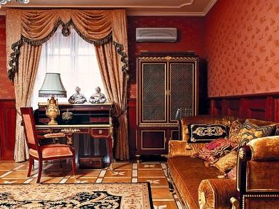 Английский дизайн интерьера в старинном стиле