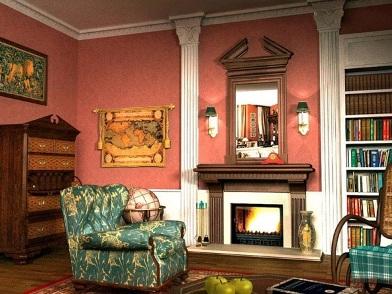 Английский дизайн интерьера в классическом стиле