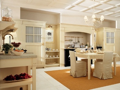 Английский дизайн интерьера на кухне