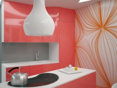 Параметрический дизайн интерьеров на кухне