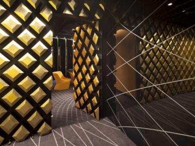 Параметрический дизайн интерьеров в офисе