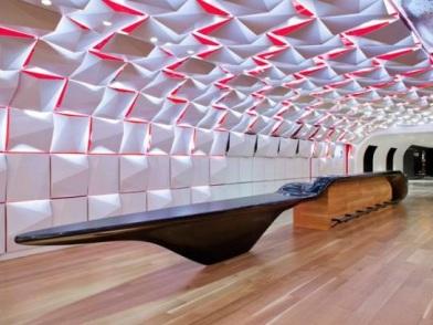 Параметрический дизайн интерьеров в центре