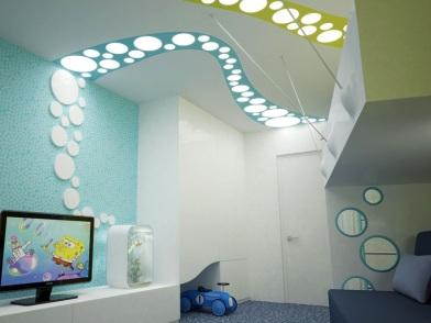 Параметрический дизайн интерьеров в детской