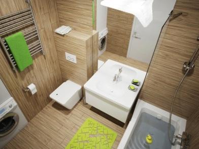 Параметрический дизайн интерьеров в ванной