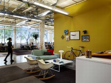 разработка дизайна интерьера офиса