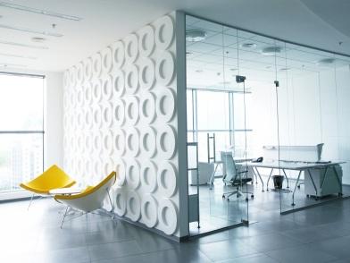 необычная разработка дизайна интерьера офиса