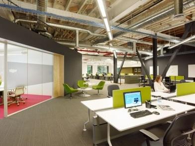 классическая разработка дизайна интерьера офиса