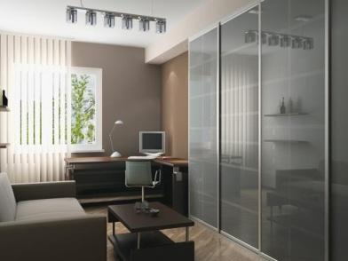 дизайн интерьера кабинета в офисе для менеджера