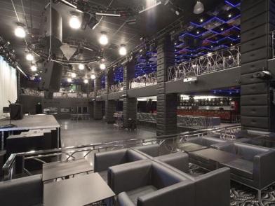 Дизайн интерьера ночного клуба в стиле хайтек