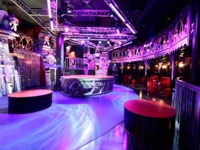 Дизайн интерьера ночного клуба гламур