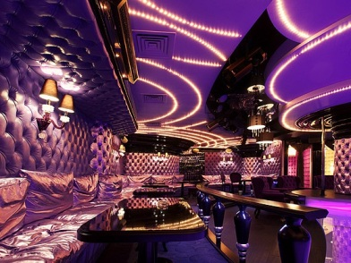 Дизайн интерьера ночного клуба вип