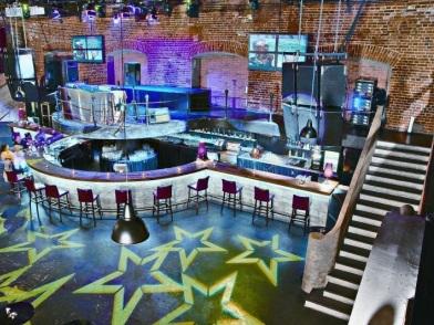 Дизайн интерьера ночного клуба в стиле лофт