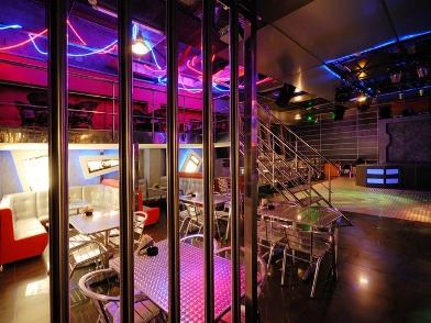 Дизайн интерьера ночного клуба