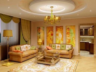 Витражи в дизайне интерьера в классическом стиле