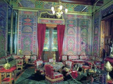 турецкий дизайн интерьера в гостиной